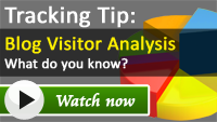 Blog Web Analytics Tracking