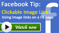 Clickable Image Links on Facebook