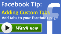 Add a custom tab on a Facebook page